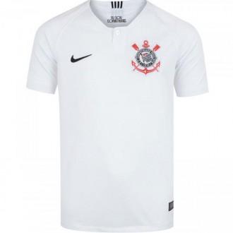 Imagem - Camisa Nike S.c.corinthians Infantil Home 2018 - 894462-100-174-53