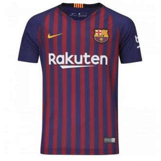 Imagem - Camisa Nike Barcelona Home Infantil 18/19 Personalizada - 894458-456-174-163