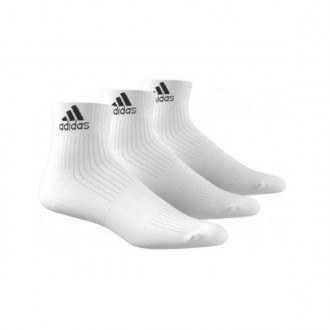 Imagem - Kit Meia Adidas Cano Curto Ankle Mid Cushion - AA2285-1-86