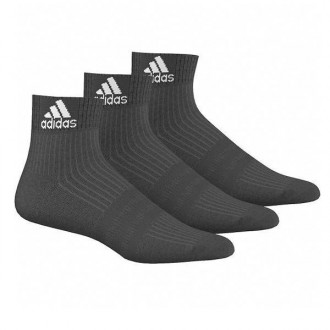 Imagem - Kit Meia Adidas Cano Curto Ankle Mid Cushion - AA2286-1-219