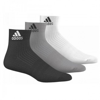 Imagem - Kit Meia Adidas Cano Curto Ankle Mid Cushion - AA2287-1-35