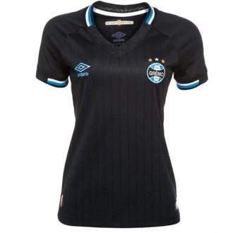 Imagem - Camisa Umbro Gremio Feminina Oficial 3 2018 - 803798-426-219