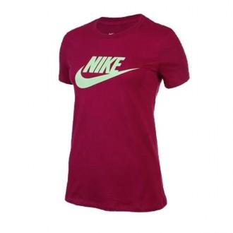 Imagem - Camiseta Nike Feminina Nsw Tee Essential Icon Futura - BV6169-627-174-587