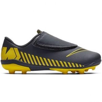 Imagem - Chuteira Nike Vapor 12 Club Junior Velcro Fg - AH7351-070-174-749