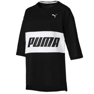 Imagem - Camiseta Puma Feminina Modern Sports Boyfriend Tee - 854229-01-218-234