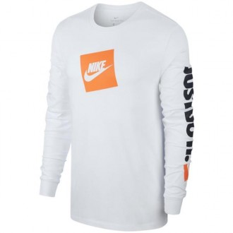 Imagem - Camiseta Nike Manga Longa Nsw Tee Just Do It - BV1375-100-174-38