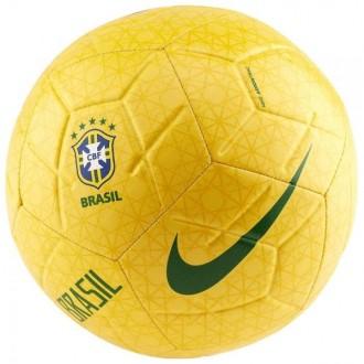 Imagem - BOLA NIKE FUTCAMPO CBF BRASIL STRIKE - SC3922-749-174-359