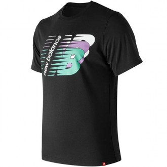 Imagem - Camiseta New Balance  Three Ns - BMT91584-BK-359-783