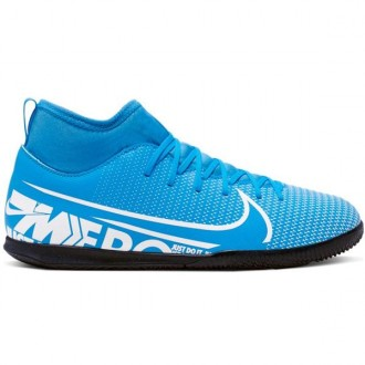 Imagem - Tenis Nike Mercurial Superfly 7 Club Ic Junior - AT8153-414-174-16