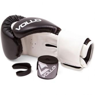Imagem - Kit Vollo Boxe Luva+protetorbucal+bandagem - VFG501-406-234