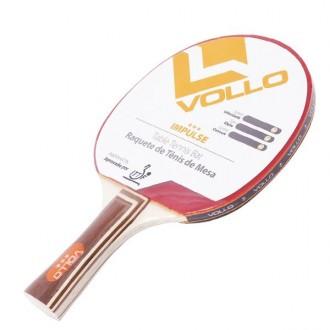 Imagem - Raquete Vollo Tenis De Mesa Impulse Ittf - VT604-406-198