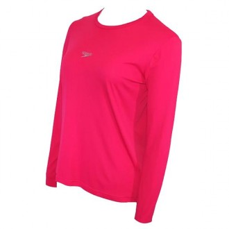Imagem - Camiseta Speedo Feminina Manga Longa Protection Uv - 071715-258-273