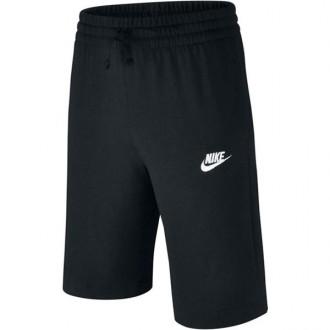 Imagem - Bermuda Nike Infantil Jersey Moleton - 805450-011-174-234