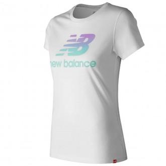 Imagem - Camiseta New Balance Feminina Colors - BWT91576-WT-359-86