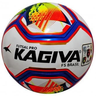 Imagem - Bola Kagiva Futsal F5 Brasil - 0089010022-418-551