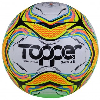 Imagem - Bola Topper Futsal Samba Ii 2020 - 5137002015-275-26