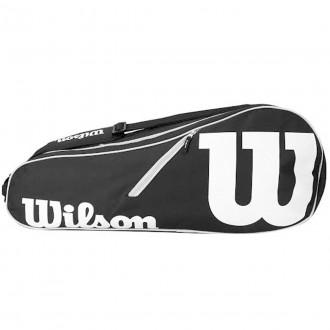 Imagem - Bolsa Raqueteira Wilson Advantage Ii 6 Pack - WRZ601406-301-234