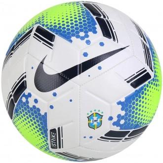 Imagem - Bola Nike Futcampo Cbf Strike Brasileirao 2020 - SC3940-100-174-63