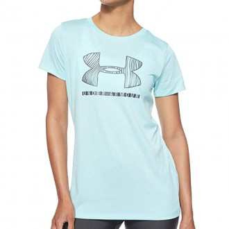 Imagem - Camiseta Under Armour Tech Sportstyle Graphic Ssc - 1359415-425-442-410