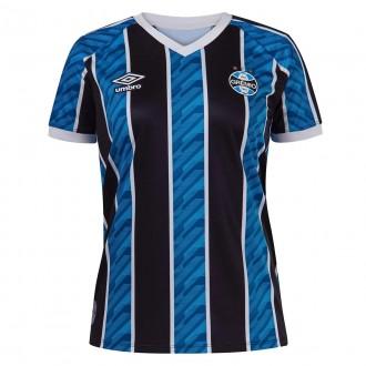 Imagem - Camisa Umbro Gremio Feminina Oficial I 2020 - 921170-426-741