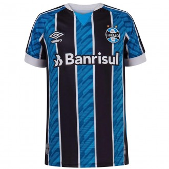 Imagem - Camisa Umbro Gremio Juvenil Oficial I 2020