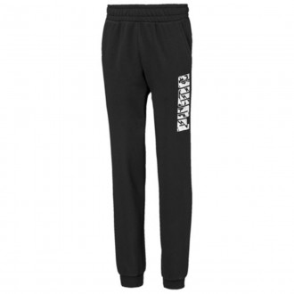 Imagem - Calca Puma Infantil Moletom Sweat Pants - 581345-01-218-219