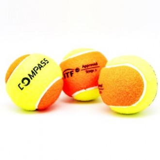 Imagem - KIT BOLA COMPASS BEACH TENNIS - 37-471-387