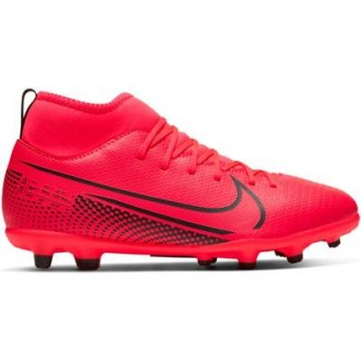 Imagem - CHUTEIRA NIKE FUTCAMPO SUPERFLY 7 CLUB JR INFANTIL - AT8150-606-174-318