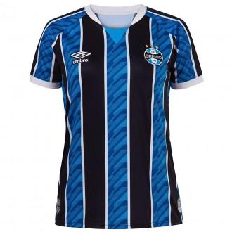 Imagem - Camisa Umbro Gremio Feminina Oficial 1 Atleta 2020