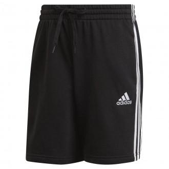 Imagem - Bermuda Adidas Moletom Essentials 3 Listras
