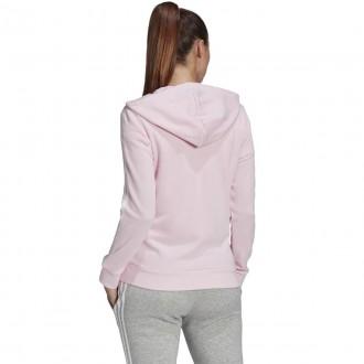 Imagem - Jaqueta Adidas Moletom Feminino Capuz Linear
