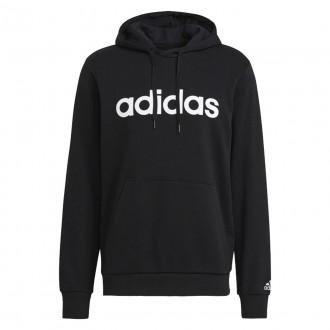 Imagem - Moletom Adidas Capuz Logo Linear