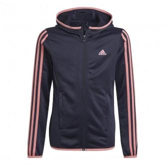 Imagem - Jaqueta Adidas Inf Essentials Capuz 3stripes
