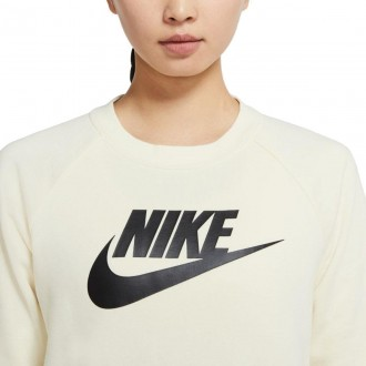 Imagem - Moletom Nike Feminino Nsw Essential Crew Flc Gx