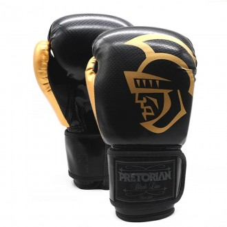 Imagem - Luva Pretorian Boxe/Muay Thai Black Line