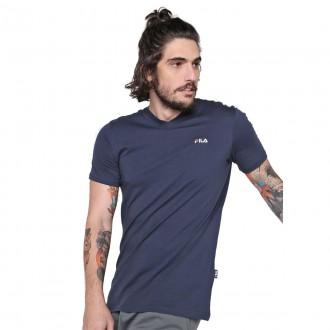 Imagem - Camiseta Fila Gola V Pima