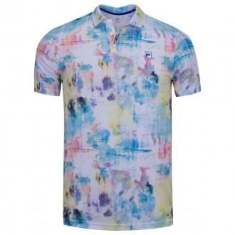 Imagem - Camisa Fila Polo Aztec Box Colors