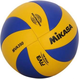 Imagem - Bola Mikasa Voleibol Mva350 - MVA350-165-532
