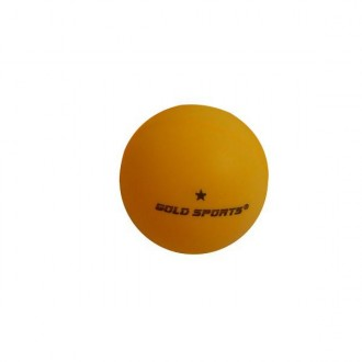 Imagem - Bola Ping-Pong Gold 1 Estrela - 11308-306-157