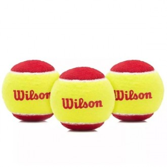 Imagem - Bola Wilson Tenis Starter Red - WRT137001-301-313