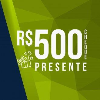 Imagem - Vale Presente Voucher Digital 500 Reais
