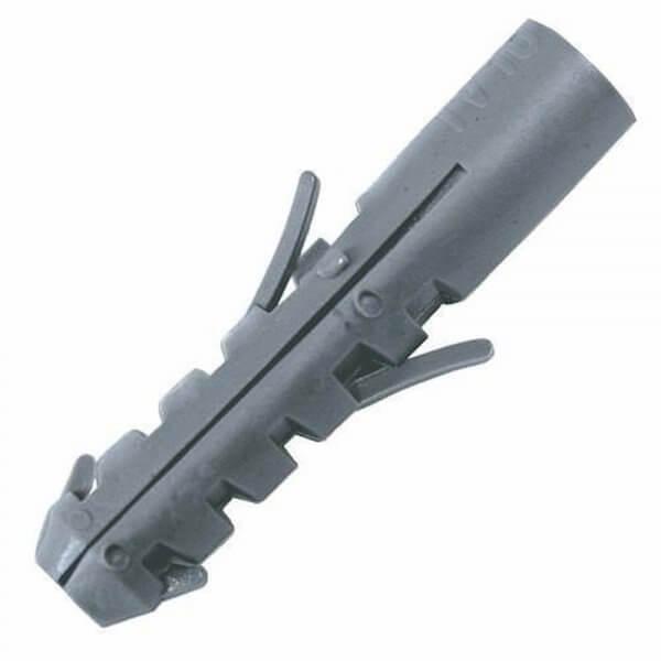 Bucha Plastica Convencional 10mm Para Fixação com 500 Peças