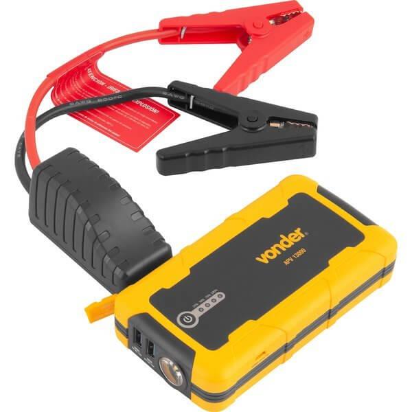 Auxiliar de partida Portátil APV 13000 Profissional 600A Vonder