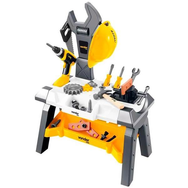 Bancada de Brinquedo com Ferramentas, 44 peças, 8099000044 - Vonder