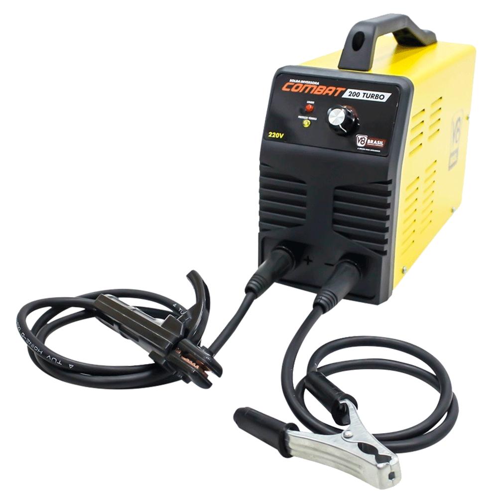 Inversora de Solda Combat 200 Turbo 220V - V8