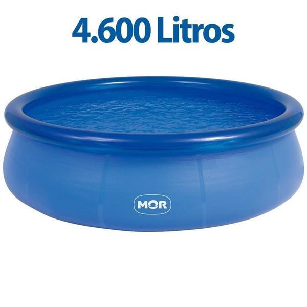 Piscina Redonda 4.600 Litros Inflável Splash Fun Mor