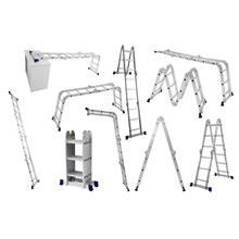 Imagem - Escada Multifuncional Com Plataforma 4 x 3 12 Degraus Mor - 9630