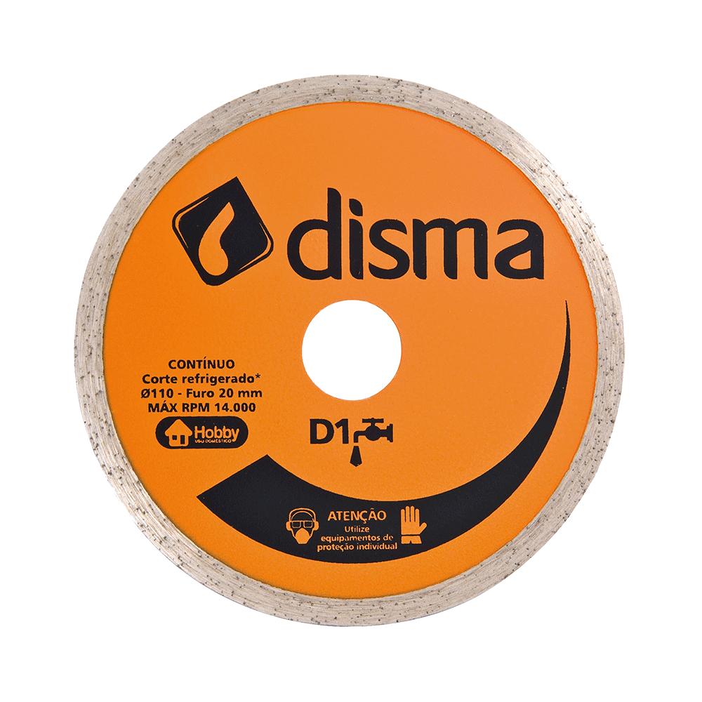 Imagem - Disco de Corte Diamantado 105mm Furo 20mm D1 Liso Disma - 3148