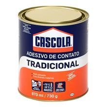 Imagem - Adesivo De Contato 730g/870ml Tradicional Sem Toluol Cascola - 8788-1