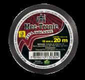 Imagem - Fita Isolante Elétrica 0,13mm x 19mm x 20m | Preta - 9952